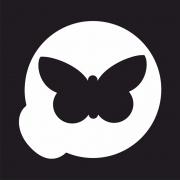 """Трафарет для бикини дизайна """"Бабочка"""""""